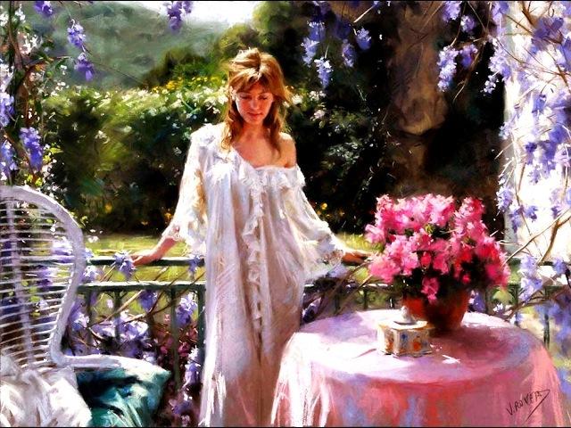 Женский образ в картинах Висенте Ромеро Редондо (Vicente Romero Redondo)