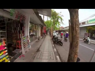 Walking in Bali, Indonesia