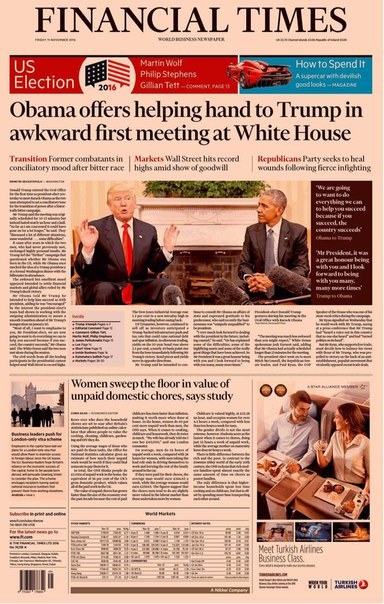 Financial Times UK  November 11 2016