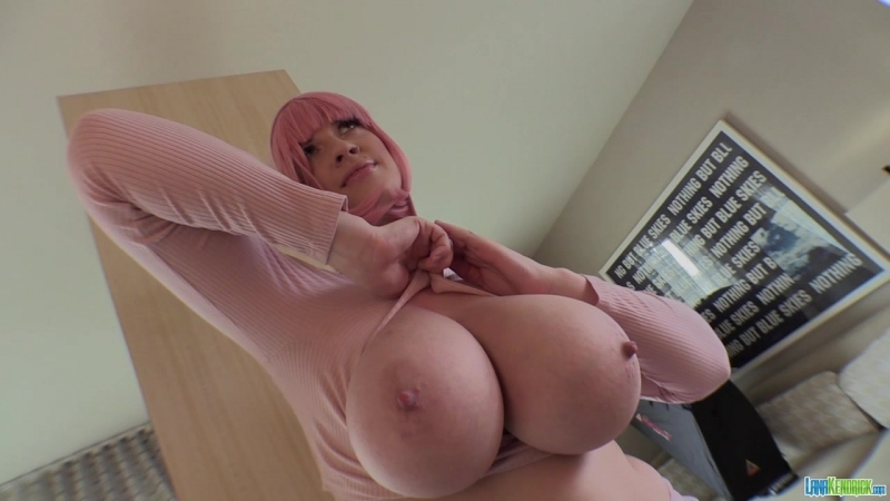 Lana Kendrick - Pretty In Pink 1 [Solo, Striptease, Big Natural Tits] [720p]