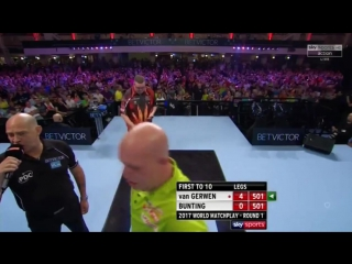Michael van Gerwen vs Stephen Bunting (PDC World Matchplay 2017 / Round 1)