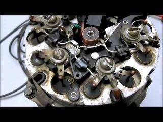 Как повысить напряжение генератора - установка диода с ДУ