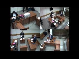 Прямая трансляция! Виктор Янукович выступает в Дорогомиловском суде по делу о г ...