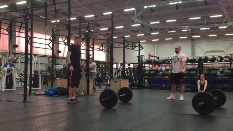 CrossFit Games Open 17point3 12 03 2017 CF RTBC