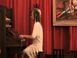 Morgan Siever playing Charleston Rag in Peoria
