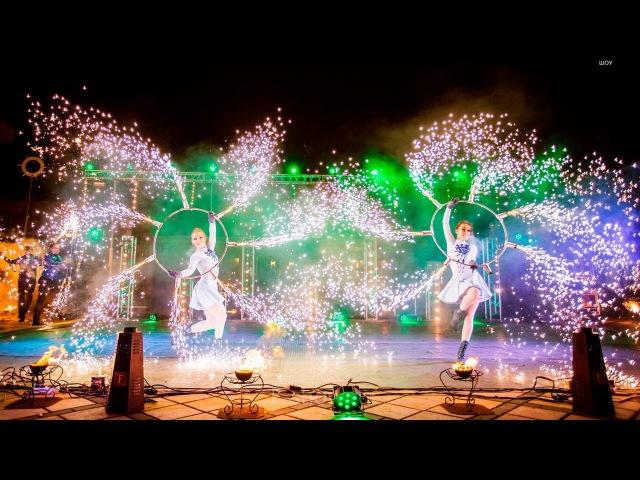 Огненное шоу на свадьбу Любовь похожая на сон Ферджулян шоу