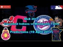 MLB The Show 17 Cleveland Indians vs Minnesota Twins Predictions MLB2017 (19 April 2017)