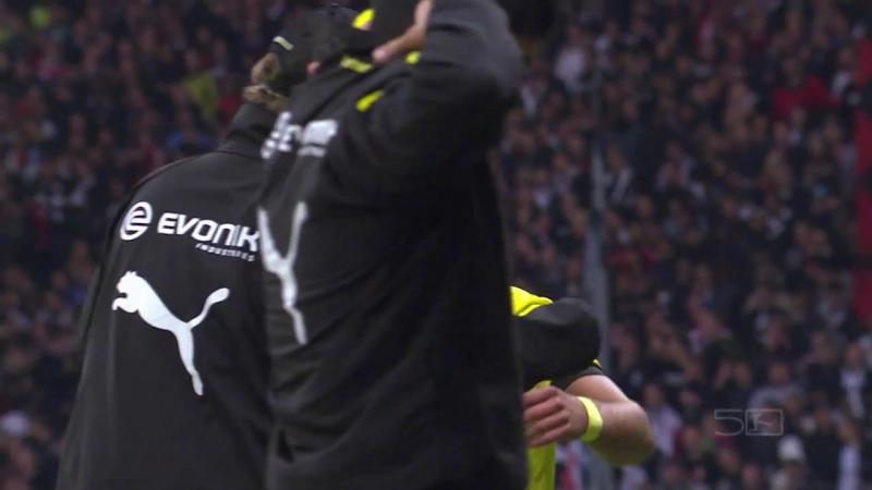 Goals from Piszczek Reus Gotze Eintracht Frankfurt vs Borussia Dortmund