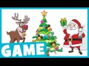 Learn Christmas Vocabulary 2 What Is it Game for Kids Maple Leaf Learning