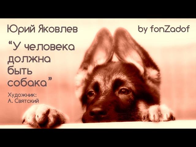 У человека должна быть собака добрая история