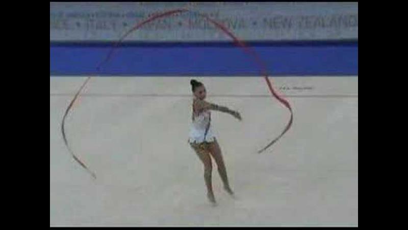 Kabaeva Alina Ribbon 2007 Patras WCh Q