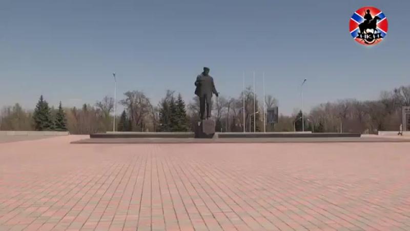 Сигнал тревоги прозвучал во всех городах ЛНР В полдень сирена разрезала тишину в Стаханове прозвучав в память о жертвах украинс