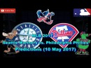 MLB The Show 17 Seattle Mariners vs. Philadelphia Phillies Predictions MLB2017 (10 May 2017)