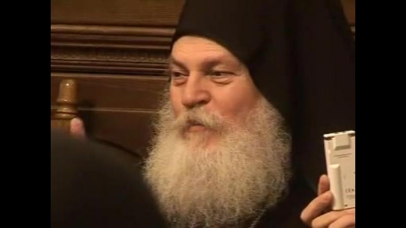 Игумен Ефрем Монашество украшение Церкви