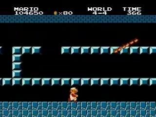 Немного баянистых издевательств над Super Mario Bros Hack by DEN0502