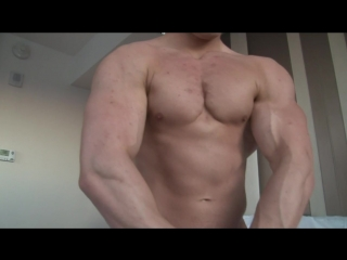 [720]  JEREMY N PHOTO SHOOT #2 (Pumping Muscle) (Wrestling)