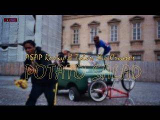 #премьера♫ a$ap rocky & tyler & the creator |○ potato salad ○ ⏪two®⏩