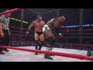 |WM| Eric Young vs Austin Aries vs Bobby Lashley -- TNA SlammiVersary XIII