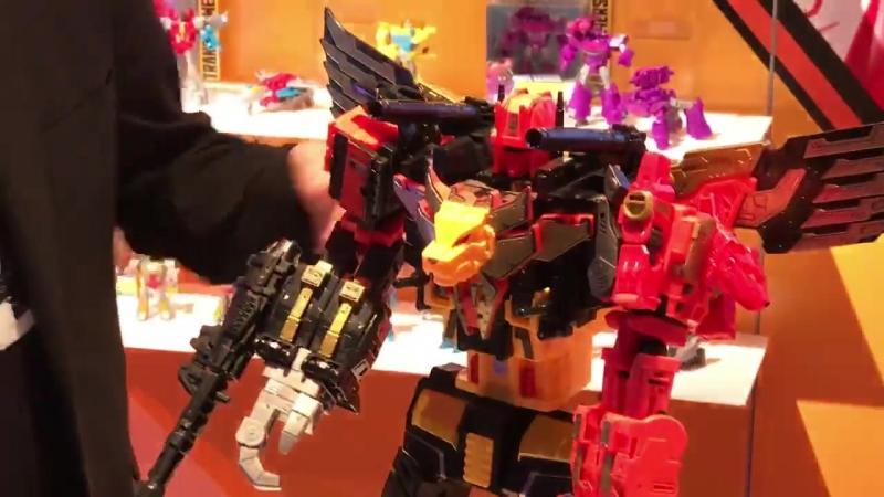 Transformers Design Director John Warden Talks Predacons Predaking and the next Power of the Primes Titan figure s
