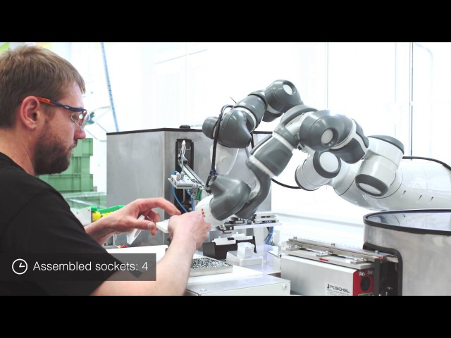 Collaborative Robot YuMi at ABB Elektro Praga
