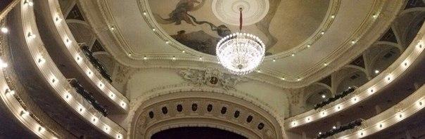 """Данис Султанов: El Gran Teatro de La Habana """"Alicia Alonso"""", sede del Ballet Nacional de Cuba."""