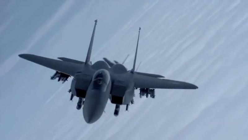 Республика Корея ВВС - F-15K Slam Eagle многоцелевой истребитель [720p]