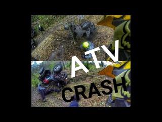 #PWR[8]|ATV CRASH/FAIL/НАШЛИ АВТОМАТ В ПОЛЕ/BRP/ARCTIC CAT/KAWASAKI/YAMAHA/POLARIS