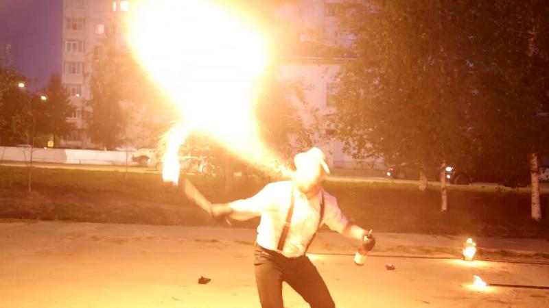 Огненно-пиротехническая шоу-программа Чикаго Проект Свадьба в подарок Шоу-проект Самум Нижневартовск Мегион Стрежевой Сургут