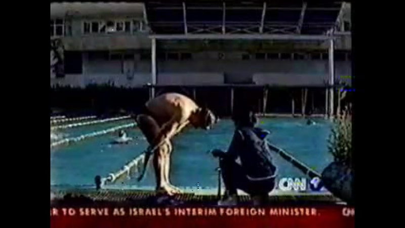 CNN 05 11 2002 Henri Kuprashvili swam across the Dardanelles 30 08 2002