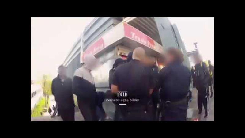 Polisens egna bilder från Rinkeby Police Footage from Rinkeby