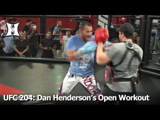 UFC 204: Dan Henderson's (Possibly) Last Open Workout For Fans + Media (Unedited)