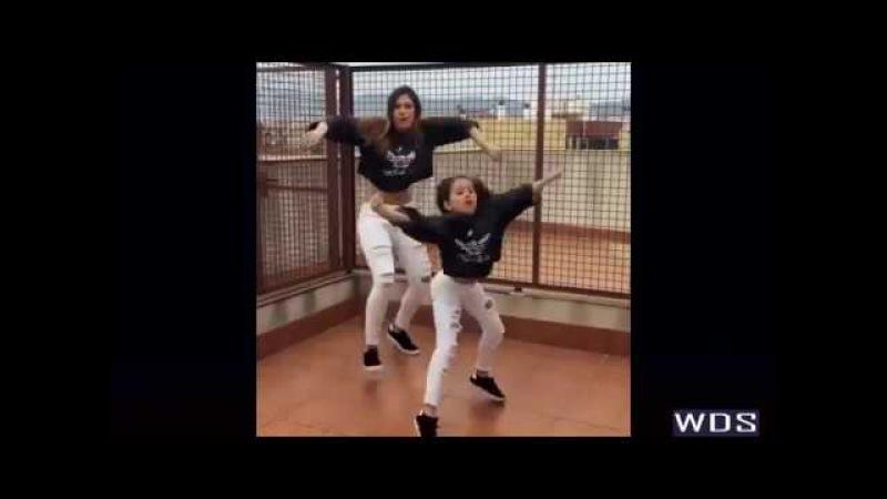 Mother And Daughter Dancing Ed Sheeran Shape of You