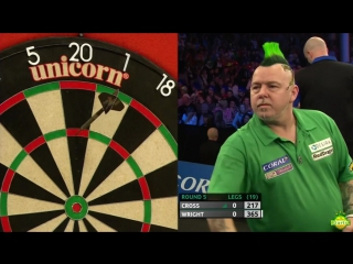 Rob Cross vs Peter Wright (Coral UK Open 2017 / Round 5)