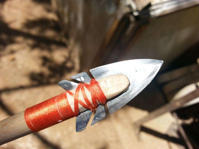 DIY wooden arrows with feather fletching and duct tape fletching contest The Art of Weapons