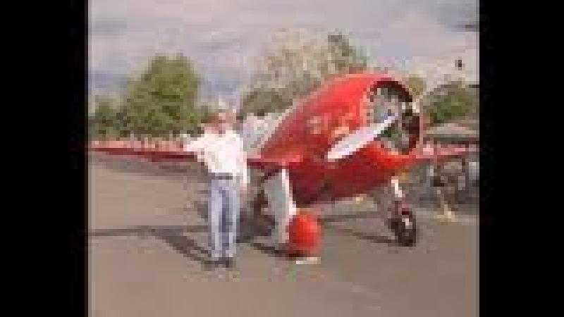 Delmar Bejamin flying his 1932 GeeBee R 2 replica PART 1