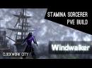 Stamina Sorcerer PvE Build Windwalker- Clockwork City ESO