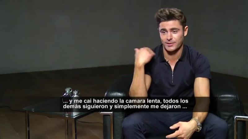 Teletrece - NotasT13 - 📍 Zac Efron conversó con María Jesús Muñoz...