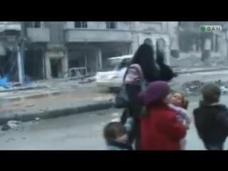 Более 3000 мирных жителей покинули восточный Алеппо