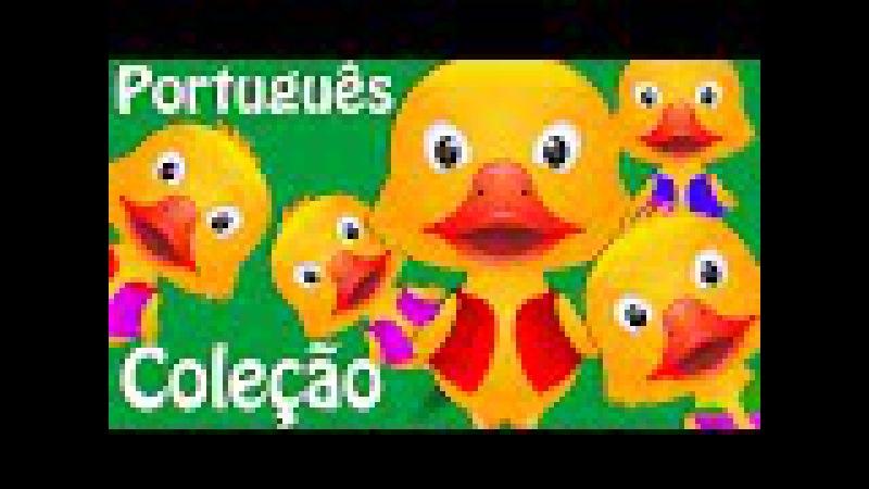 Cinco Patinhos e Muitas Mais Canções de Ninar Canções Infantis em Português pela ChuChu TV