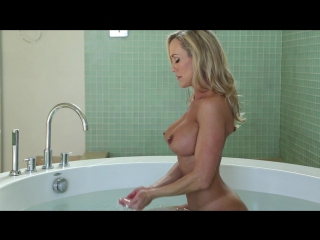 Brandi Love Gonzo, Big Boobs, Curvy, Big Ass, MILF, Big Dick, Oil, Threesome