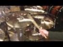 Zildjian A Custom Cymbal Set - 20r, 18c, 16c, 14h
