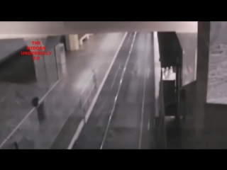 Ghost train caught on cctv at baotou railway station,