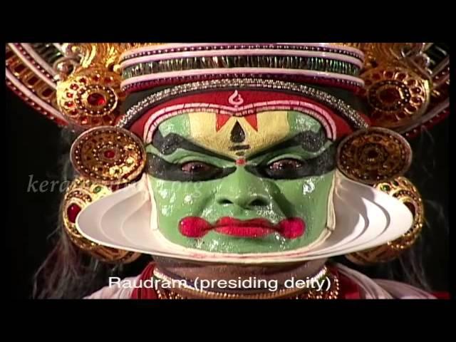 Мимический язык катхакали Navarasam in Kathakali