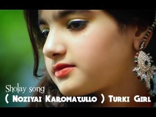 Keren Gadis Turki Nyanyikan Lagu India Merdu Suaranya # Sholay song ( Noziyai Karomatullo )