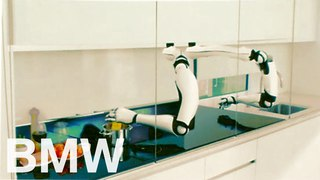 Moley Robotic Kitchen: more than artificial intelligence. BMW Welcomes keynote.
