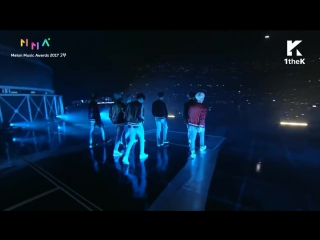 171202 BTS - Intro + DNA + You Never Walk Alone + Spring Day @Melon Music Awards (2017 MMA)