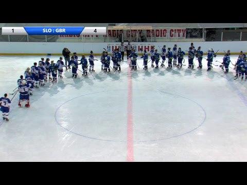 IIHF Women's WC Slovenia SLO GBR