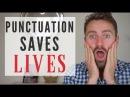 PUNCTUATION SAVES LIVES English Writing Skills COMMAS