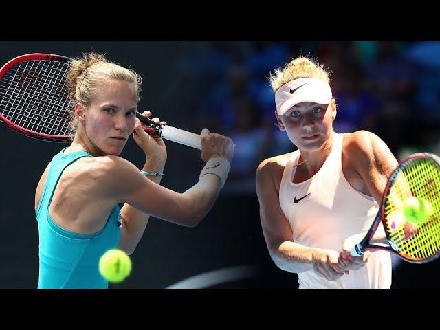 Українка Марта Костюк виграла тенісний турнір Австралія Viktorija Golubic VS Marta Kostyuk ITF Burnie 2018 Final Перемога