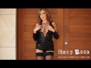 Lucy anne brooks in black latex